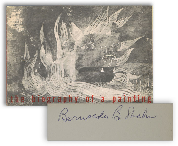 The Biography of a Painting. Ben SHAHN.