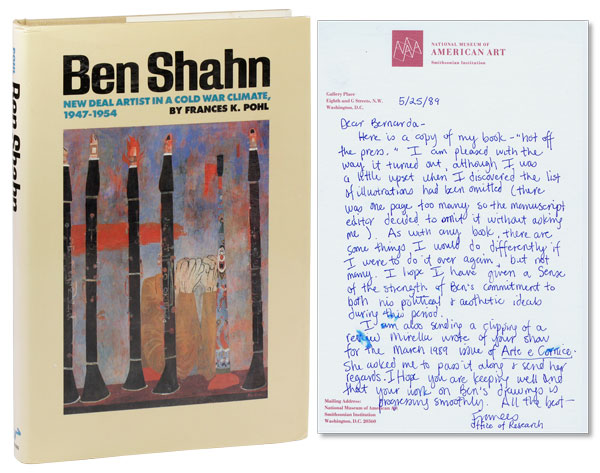 Ben Shahn: New Deal Artist in a Cold War Climate, 1947-1954. Frances K. POHL.