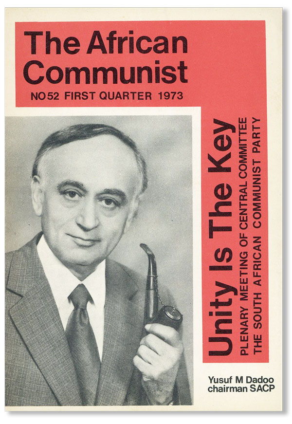 The African Communist Quarterly   No  52 - First Quarter 1973 by COMMUNISM  - AFRICA on Lorne Bair Rare Books