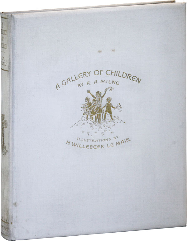 A Gallery of Children. Illustrations by Saida (H. Willebeek Le Mair) [Signed, Limited Edition]. A. A. MILNE.