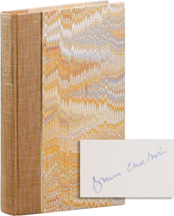 The Songlines - Limited Edition, Signed. Bruce CHATWIN.