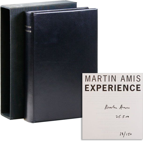 Experience [Limited Edition, Signed]. Martin AMIS.