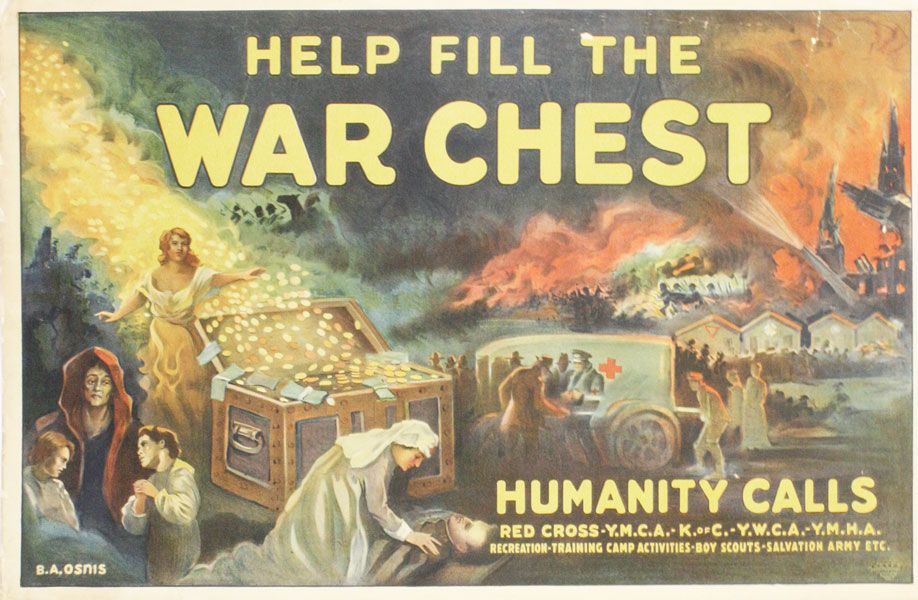 Help Fill The War Chest. B.Benedict A. *OSNIS.