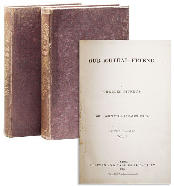 Our Mutual Friend. Charles DICKENS, illus Marcus Stone.