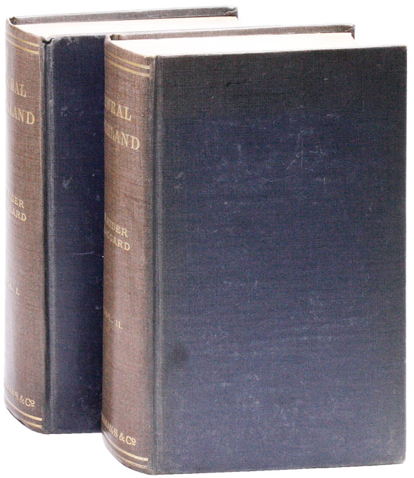 Rural England: Being an Account of Agricultural and Social Researches Carried Out in the Years 1901 & 1902. H. Rider HAGGARD.