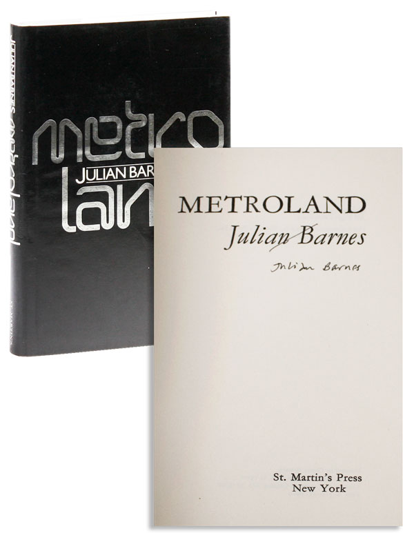 Metroland [Signed]. Julian BARNES.