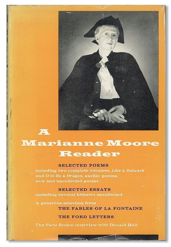 marianne moores poetry original version Those various scalpels: poetry made new in marianne moore's observations  moore made changes to many of the original drafts.