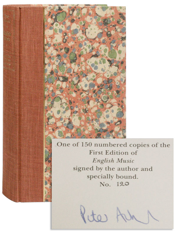 English Music [Limited Edition, Signed]. Peter ACKROYD.