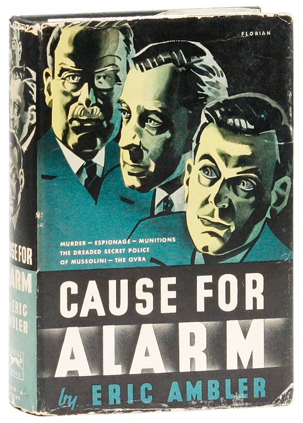 Cause For Alarm. Eric AMBLER.