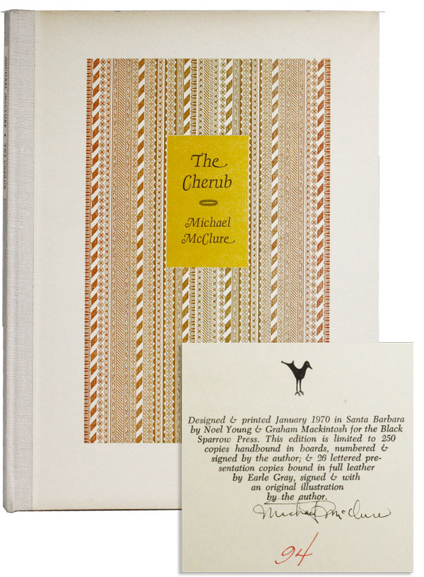 The Cherub (Limited Edition, Signed]. Michael MCCLURE.