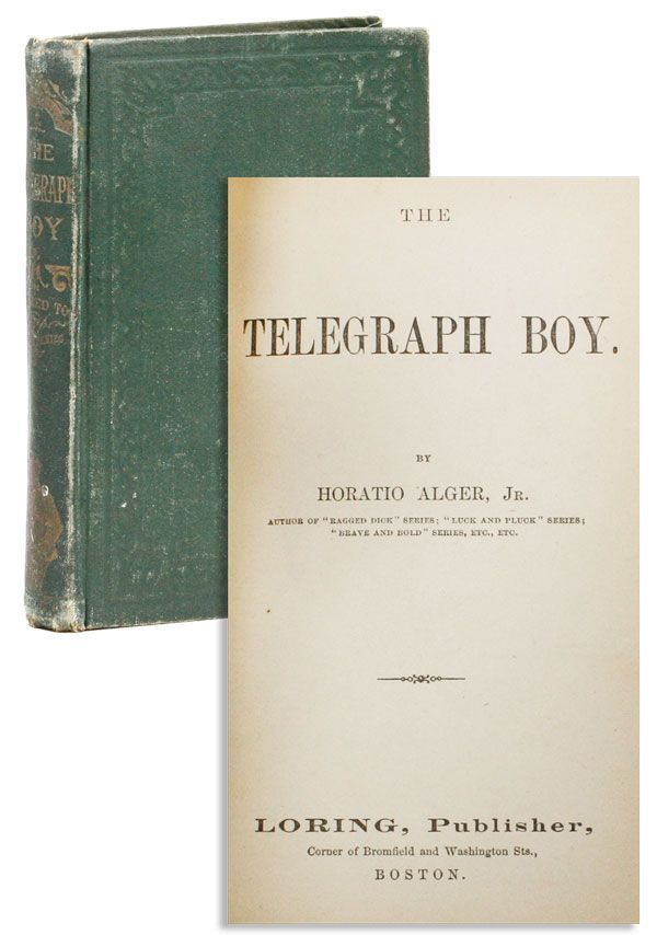 The Telegraph Boy. Horatio Jr ALGER.