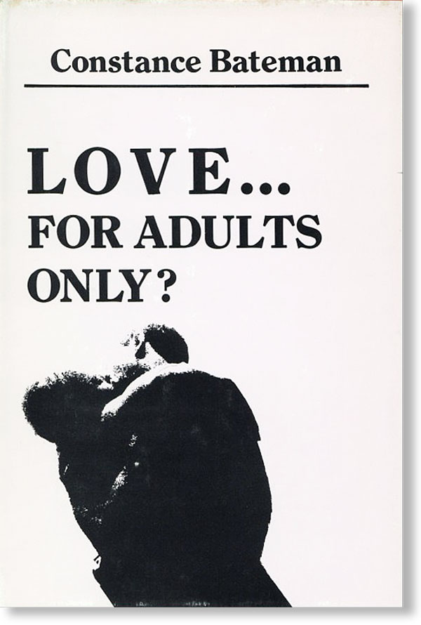 Love...for Adults Only? AFRICAN AMERICANS, Constance BATEMAN, POETRY.