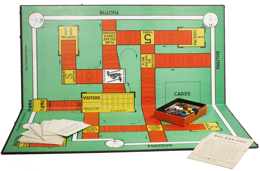 Tee-Pee-Gee (The Prison Game). GAMES - PRISONS.