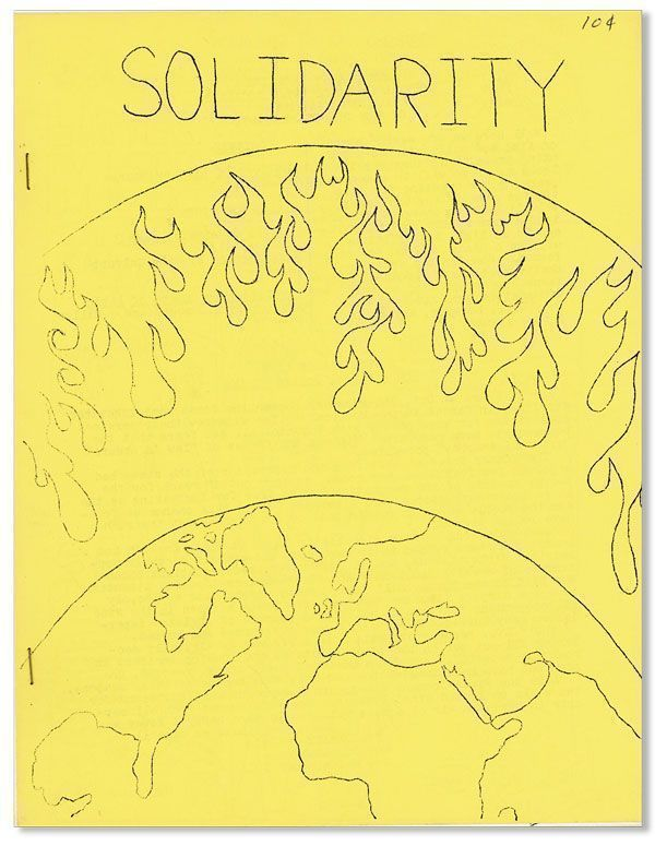 Solidarity Magazine: Journal of Libertarian Socialism and Official Organ of the Great Conspiracy [drop title]. ANARCHISM - CANADA.