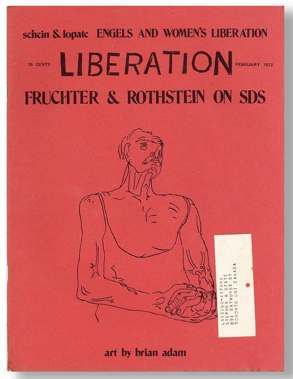 Liberation. Vol. 16, No. 9 (Feb 1972). Gwenda Linda BLAIR, aka Liberation Collective.