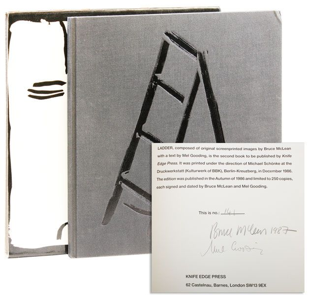Ladder [Limited Edition, Signed]. Bruce McLEAN, Mel Gooding, text.