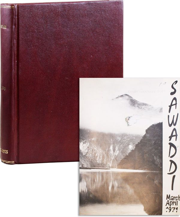Sawaddi - Bound Volume of 14 Issues. AMERICAN WOMEN'S CLUB OF THAILAND.