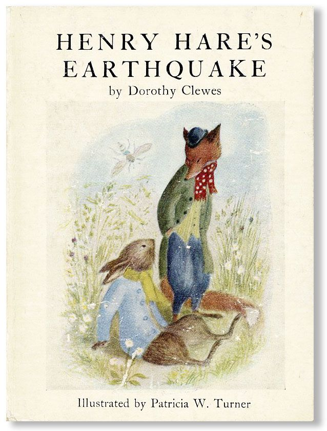 Henry Hare's Earthquake. Dorothy CLEWES, Patricia W. Turner.
