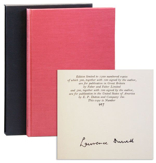 The Red Limbo Lingo: A Poetry Notebook [Limited Edition, Signed]. Lawrence DURRELL.