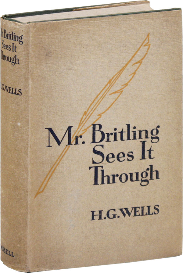 Mr. Britling Sees It Through. H. G. WELLS.