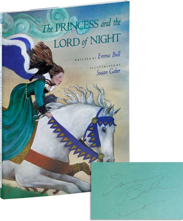 The Princess and the Lord of Night [Signed]. Emma BULL, Susan GABER, text, illustrations.