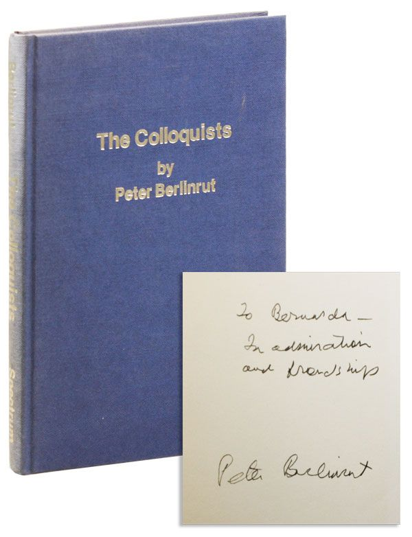 The Colloquists [Inscribed & Signed to Bernarda Shahn]. Peter BERLINRUT.