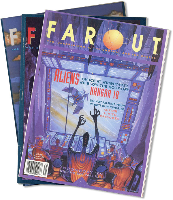 Far-Out: The Unexplainable, the Unusual and the Unreal [Three Issues]. Michael DiGREGORIO, ed.