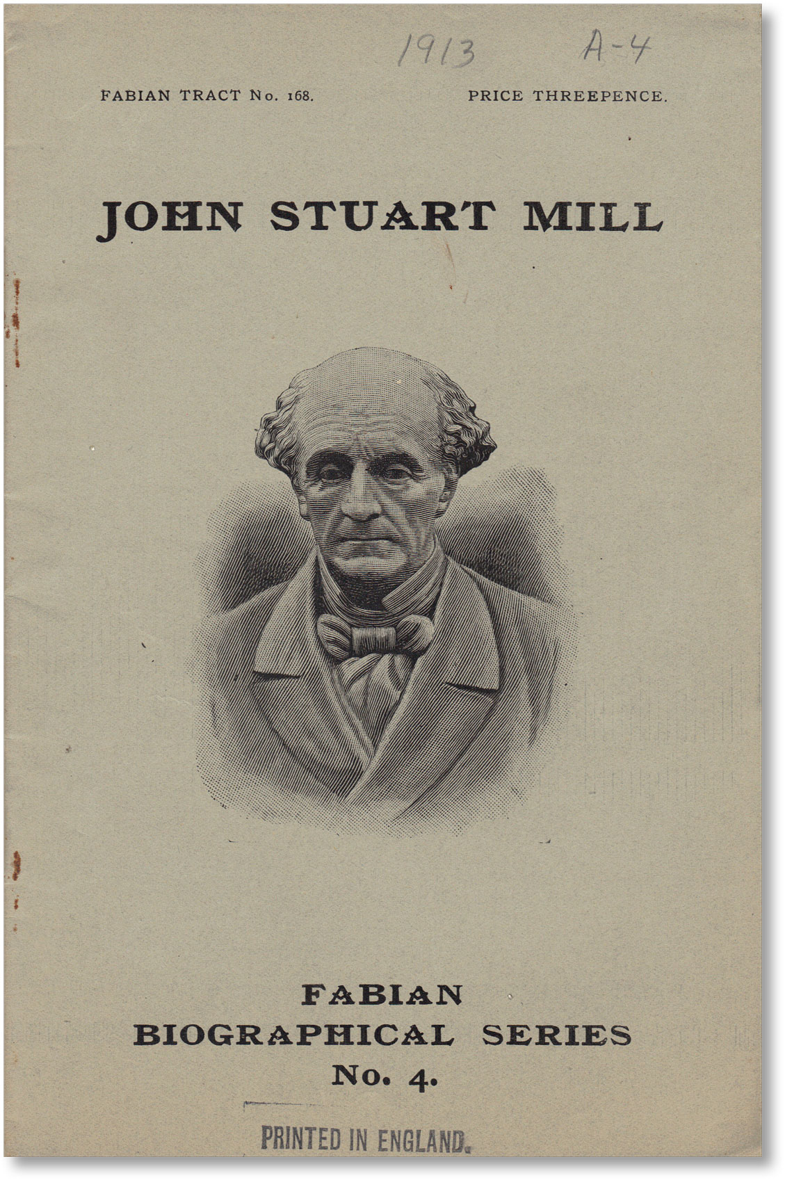 John Stuart Mill. Julius West.