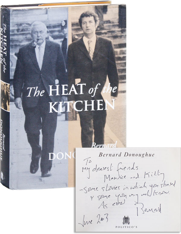 The Heat of the Kitchen: An Autobiography [Inscribed]. Bernard DONOUGHUE.
