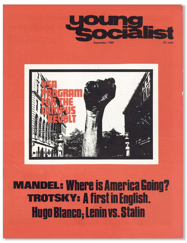 Young Socialist. Vol. 12 no 9 (Whole No. 99) - September 1969. Nelson BLACKSTOCK.