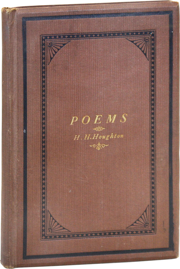 Poems. Horace H. HOUGHTON.