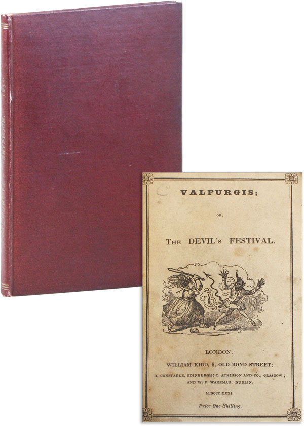 Valpurgis; or, The Devil's Festival. In Two Cantos. The Ball and Drawing Room. ANONYMOUS, Robert Seymour, attr Richard Harris Barham.