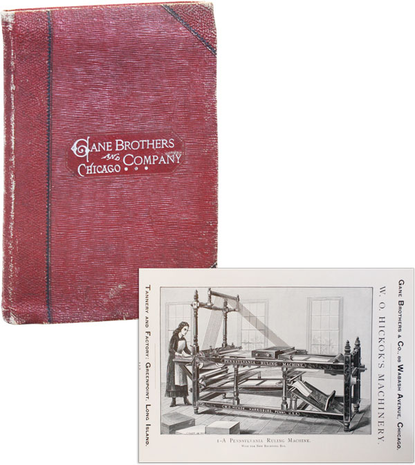 Gane Bros. & Co. Importers and Dealers in Book-Binders' Stock and Leather Manufacturers. GANE BROS., CO.
