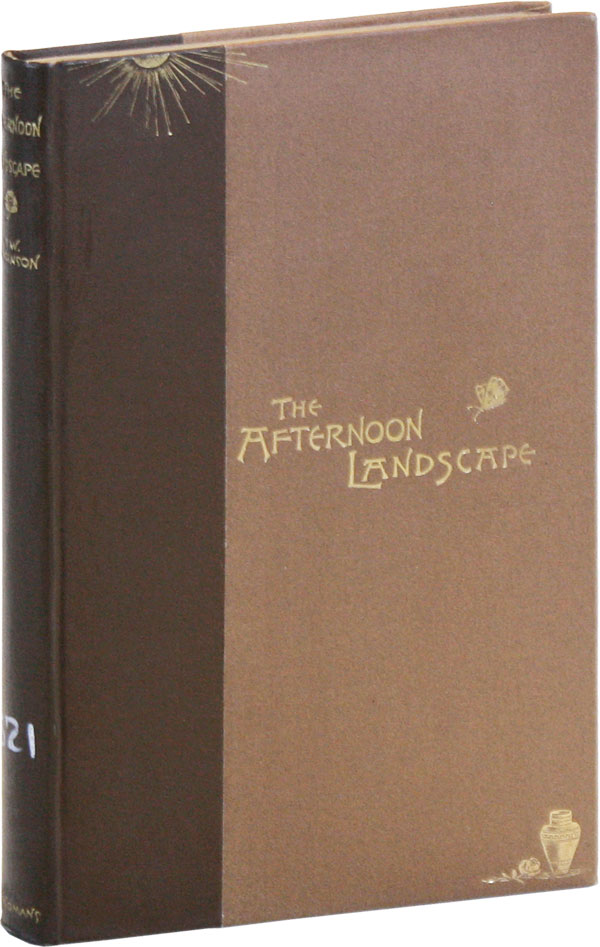 The Afternoon Landscape: Poems and Translations. Thomas Wentworth HIGGINSON.