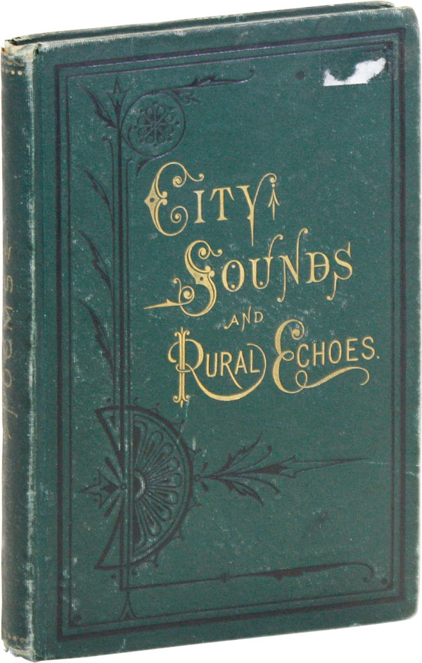 City Sounds and Rural Echoes. M. Strickland BLACKLOCK.