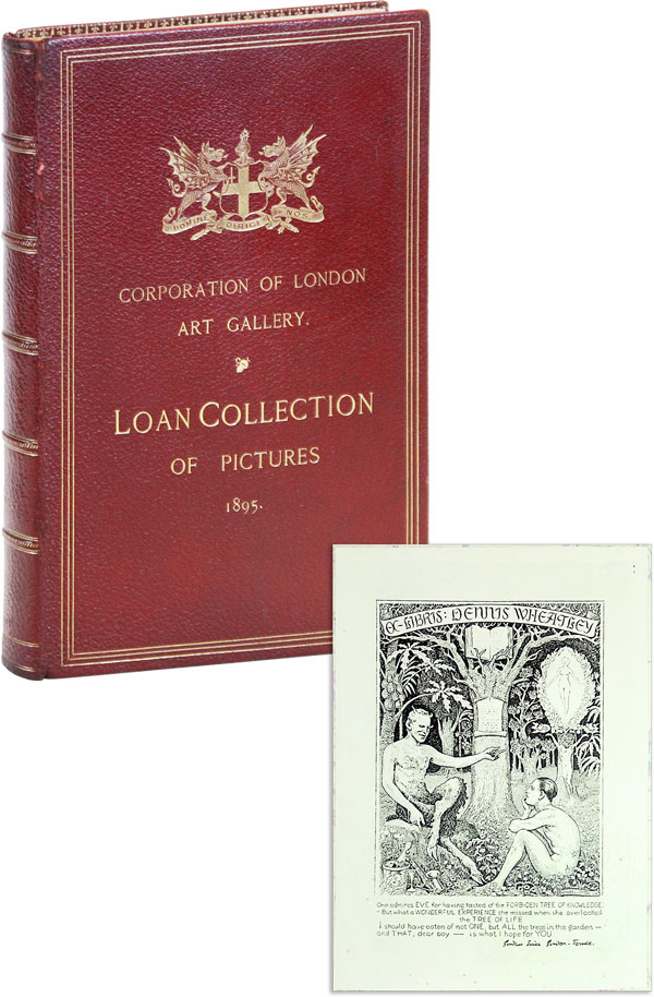 Catalogue of the Loan Collection of Pictures [English horror author Dennis Wheatley's copy]. Corporation of London Art Gallery, A. G. TEMPLE, J. Douglass Matthews Esq.