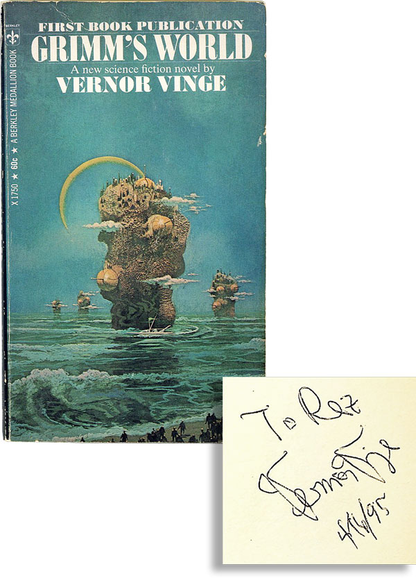 Grimm's World [Signed/Inscribed by Author]. Vernor VINGE.