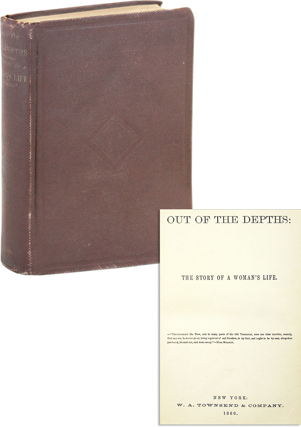 Out of the Depths: the Story of a Woman's Life. attrib. Henry Gladwyn Jebb, WOMENS' HISTORY, LITERATURE.