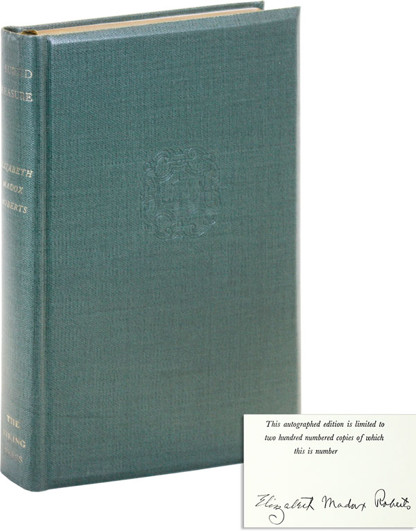 A Buried Treasure [Signed by Author]. Elizabeth Madox ROBERTS.
