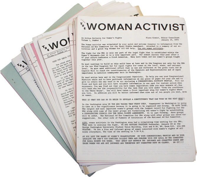 The Woman Activist - Significant Run of 37 Issues. WOMEN, Flora CRATER.