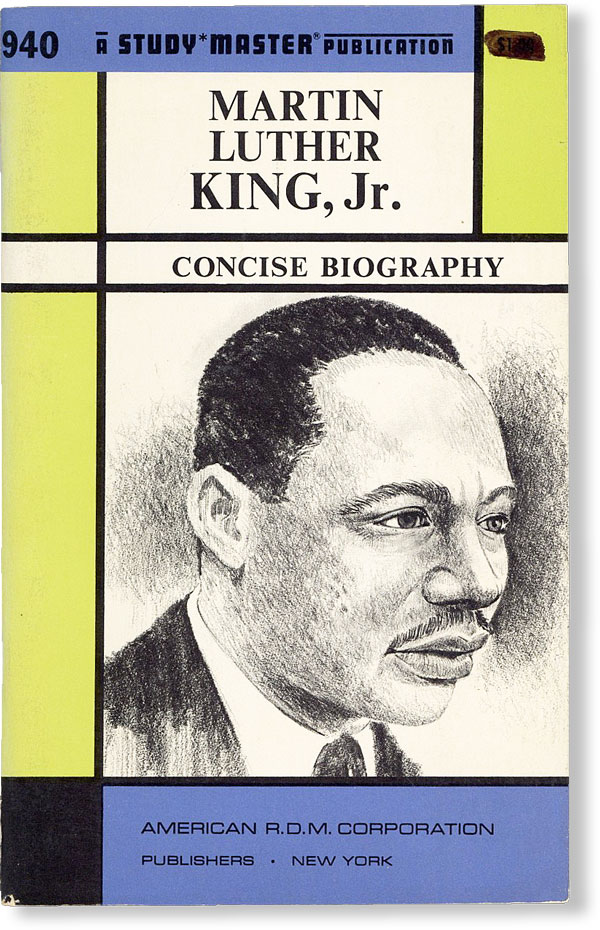 Martin Luther King, Jr.: A Concise Biography. AFRICAN AMERICANA, Roberta Strauss FEUERLICHT.