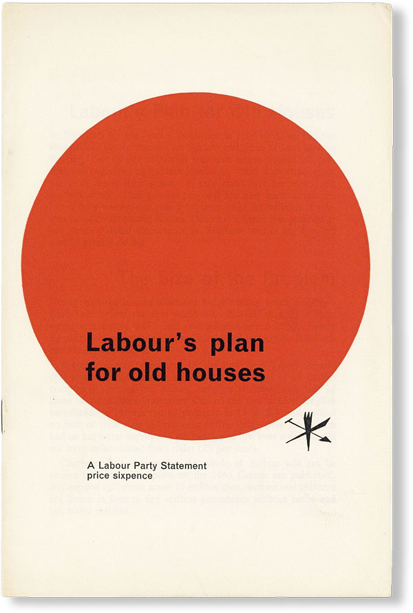 Labour's Plan for Old Houses. LABOUR PARTY.