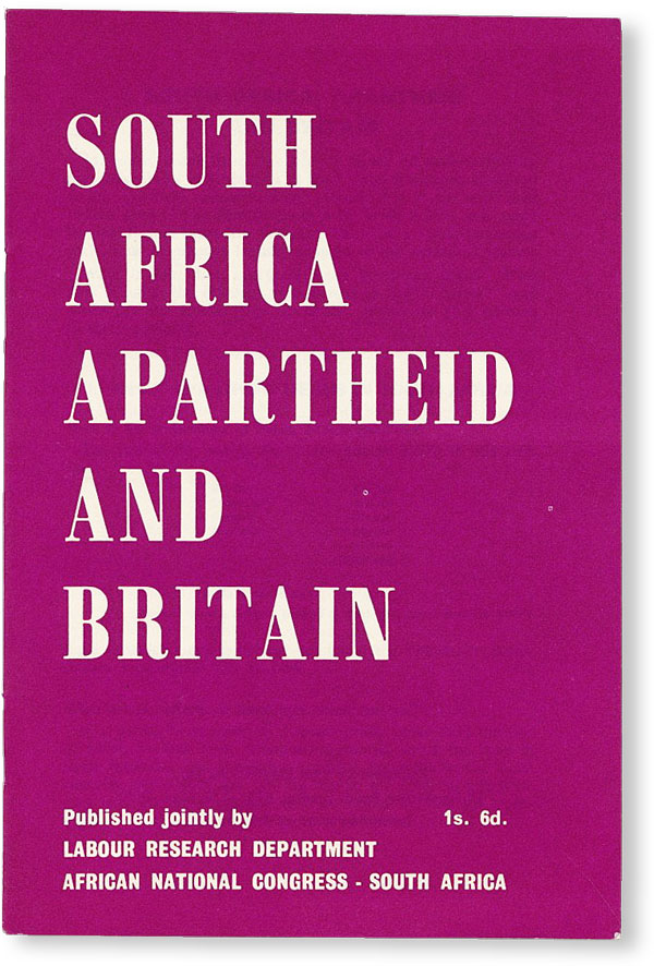 South Africa, Apartheid and Britain. SOUTH AFRICA.