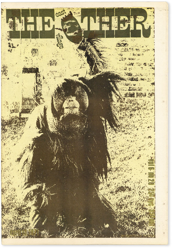 The East Village Other - Vol.6, No.20 (April 13, 1971). UNDERGROUND NEWSPAPERS, Tuli KUPFERBERG, Yossarian, Bobby Seale, contributors.