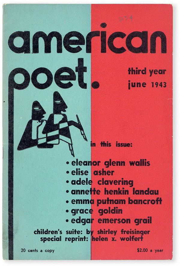 The American Poet - Vol.III, No.3 (June, 1943). James MEAGHER.