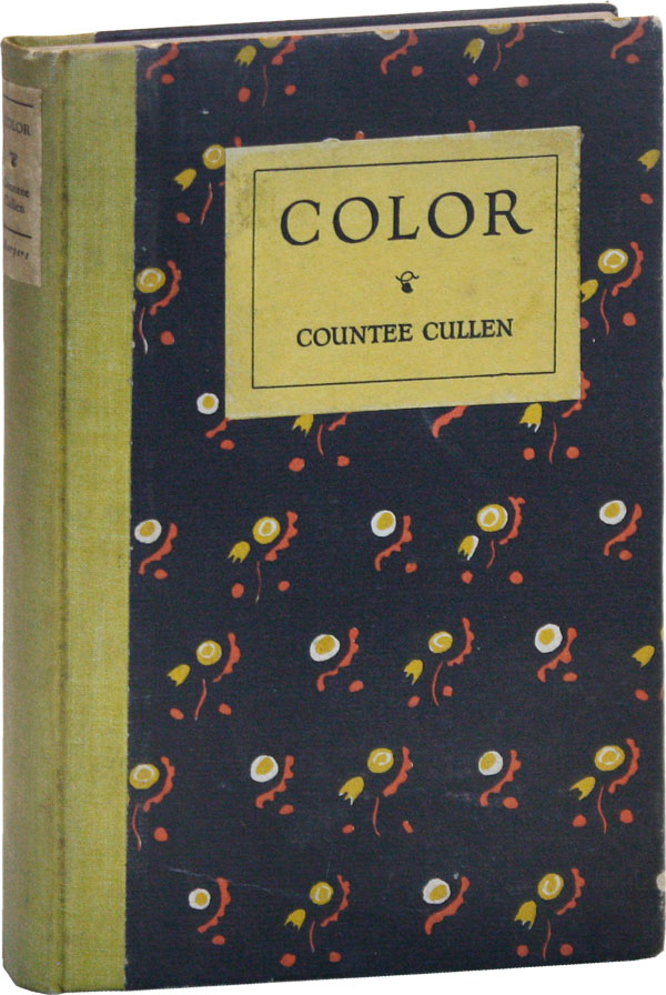 Color. AFRICAN AMERICANA, Countee CULLEN.