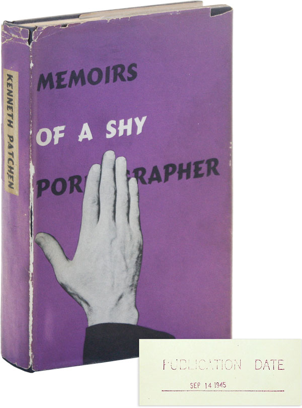Memoirs of a Shy Pornographer: An Amusement [Review Copy]. Kenneth Patchen.