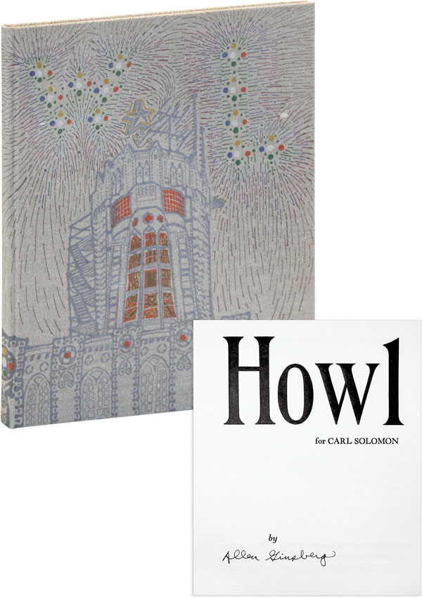 Howl for Carl Solomon [Limited Edition, Signed]. Allen GINSBERG.