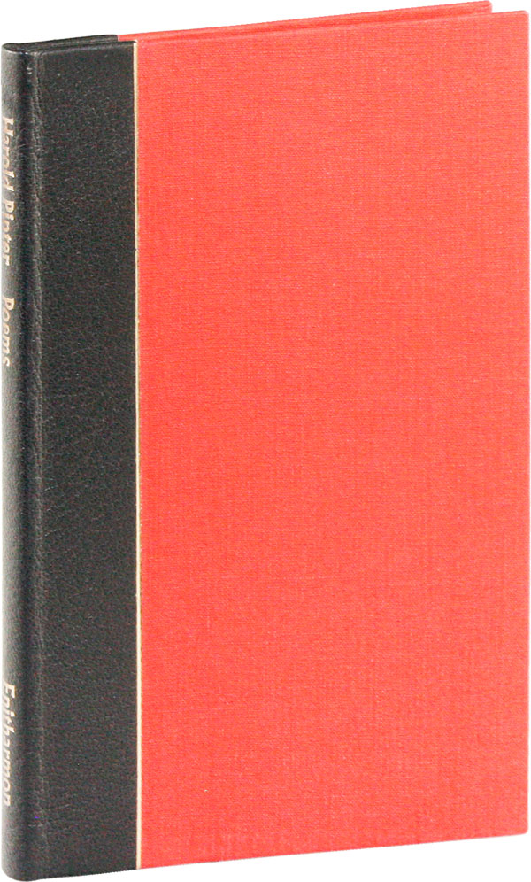 Poems [Limited Edition, Signed]. Harold PINTER.