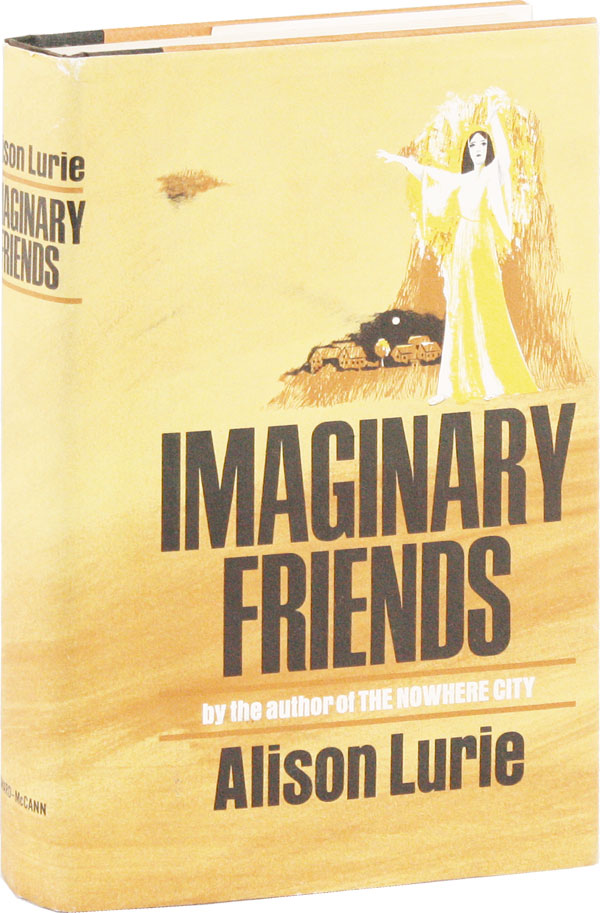 Imaginary Friends [Signed Bookplate Laid-in]. Alison LURIE, Stewart.